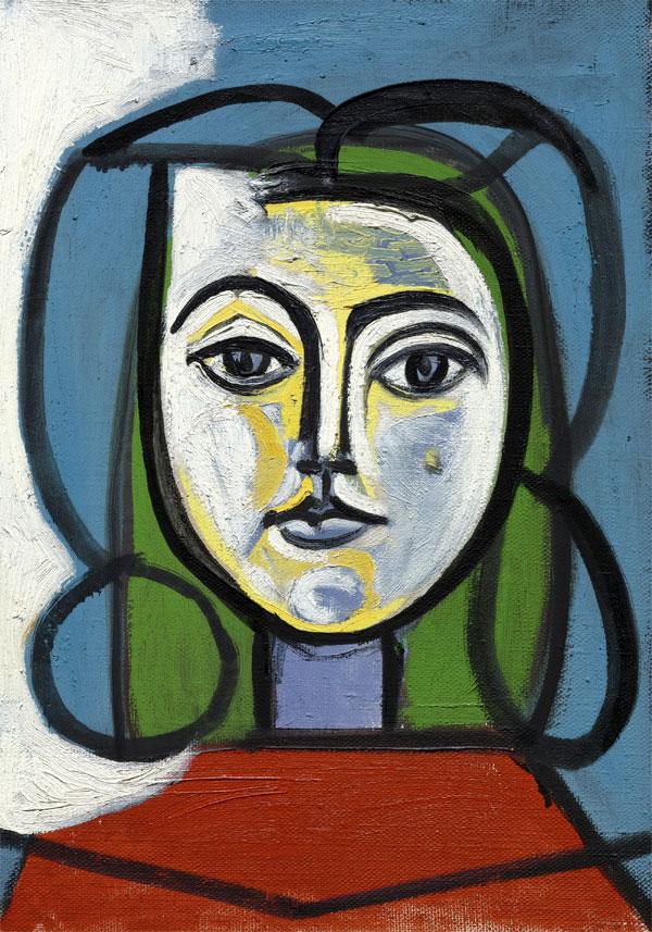 Картина Пабло Пикассо. Голова женщины (Портрет Франсуазы). 1946 ($6,9 млн)