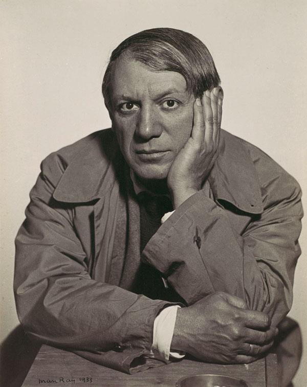 Пикассо, Париж, 1933. Ман Рэй, фото 1