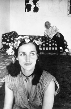 Pablo-Picasso-with-Francoise-Gilot_1952
