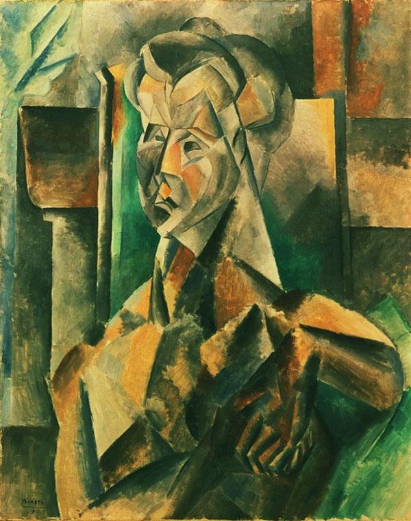 Картина Пабло Пикассо. Женщина в зеленом. 1909