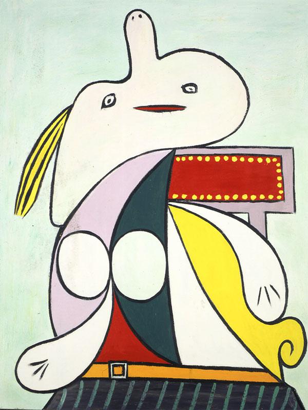 Картина Пабло Пикассо. Желтый пояс (Мари-Терез Вальтер). 1932