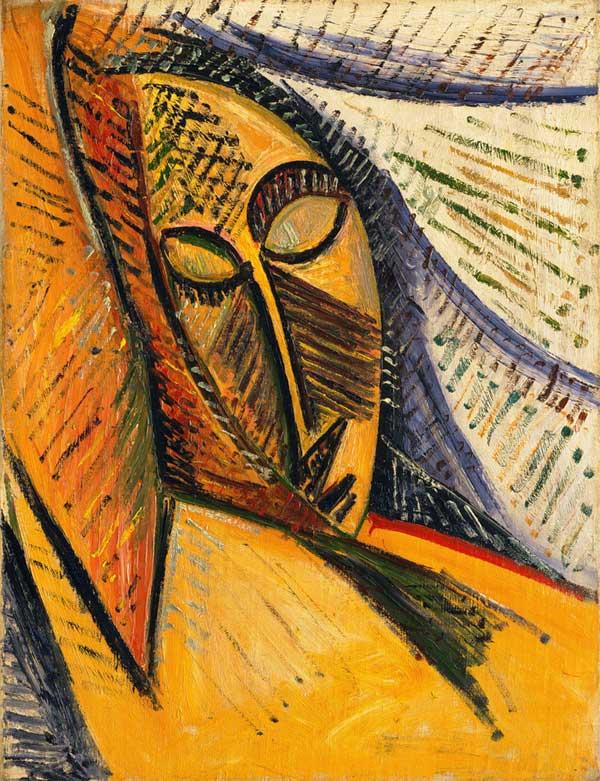 Картина Пабло Пикассо. Обнаженная с драпировкой (этюд). 1907