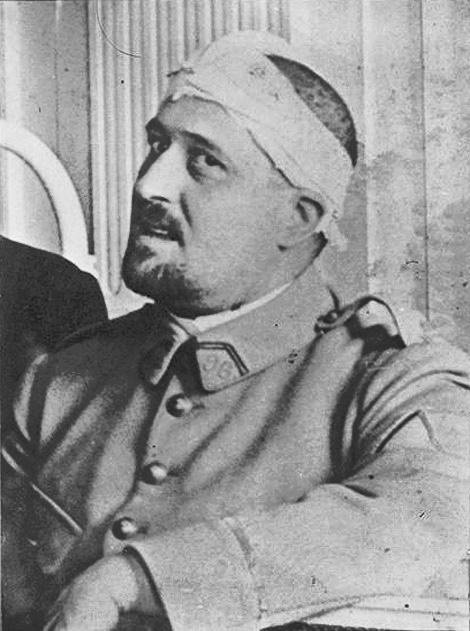 Пабло Пикассо. Портрет Аполлинера. 1916