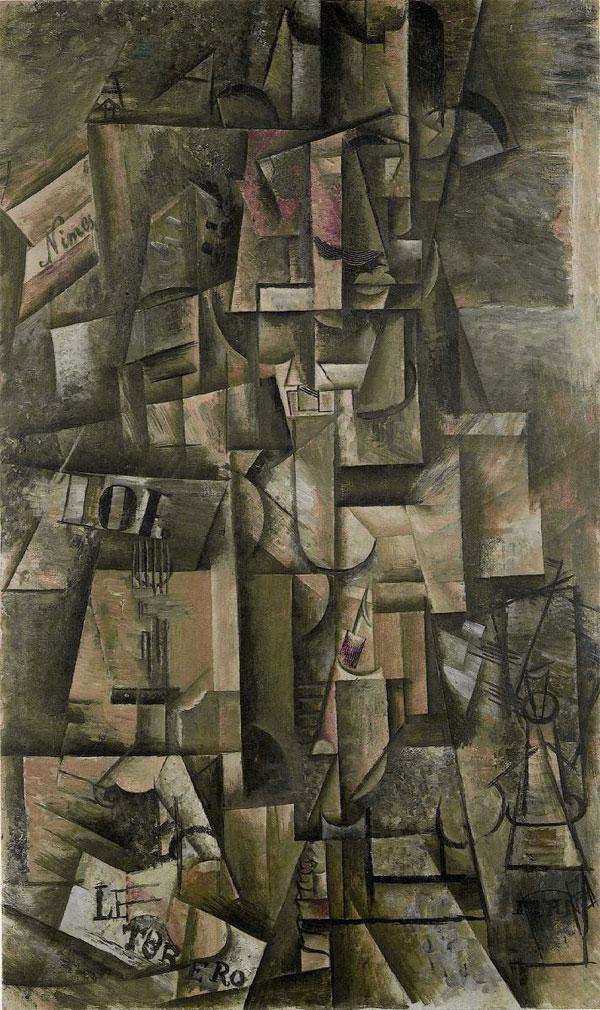 Картина Пабло Пикассо. Торреро. 1912