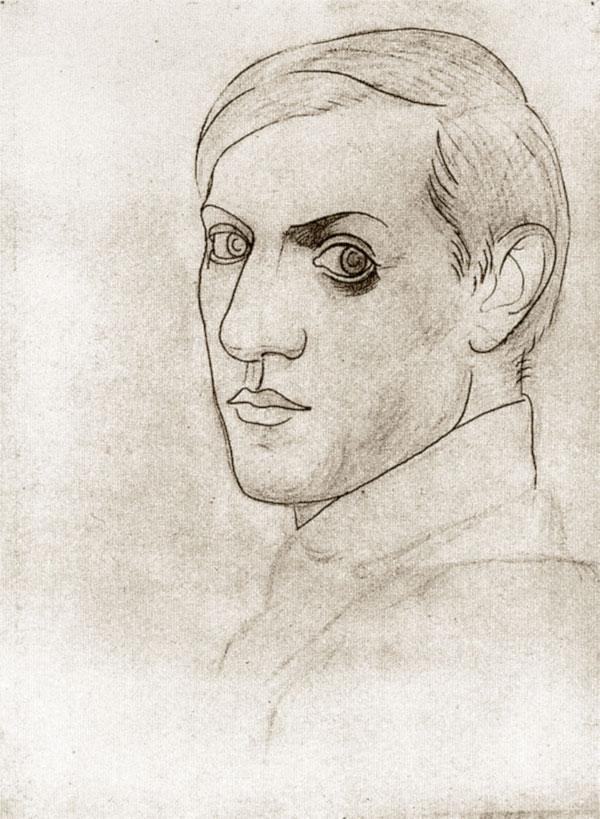 Пабло Пикассо Автопортрет 1917 период классицизма