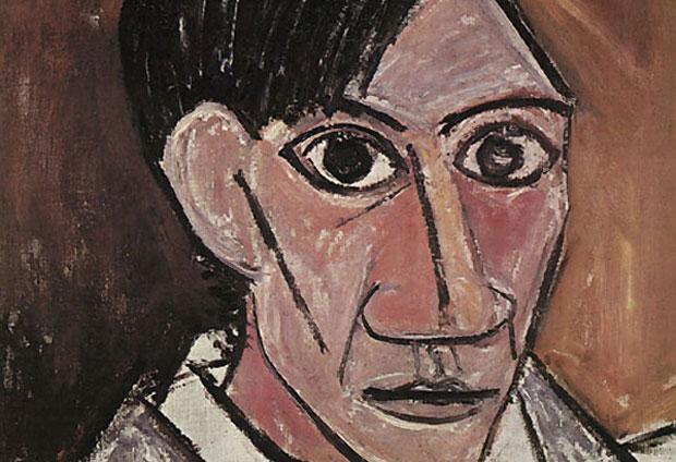 Picasso Autoportrait 1907