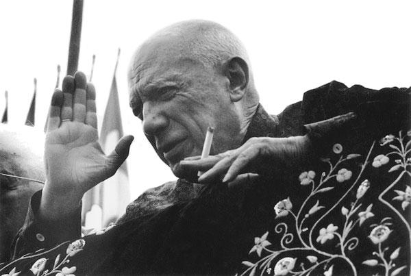 1962 - Пикассо 81 год, Фрежюс
