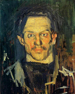 picasso self-portrait 1901