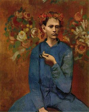 Пабло Пикассо. Мальчик с трубкой. 1905. Розовый период творчества | PicassoLive – самые дорогие картины в мире