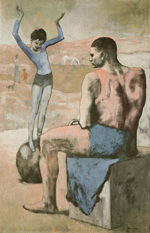 Пабло Пикассо. Девочка на шаре. 1905. Розовый период творчества | PicassoLive – самые известные картины