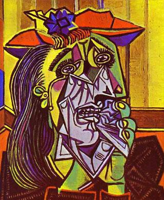 Пабло Пикассо. Плачущая женщина Военный период в творчестве художника | PicassoLive – самые известные картины