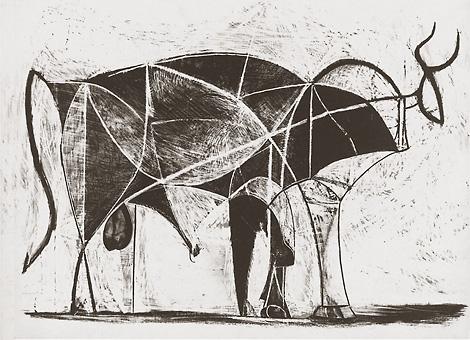 Многие работы великого Пикассо в период Второй мировой войны были сделаны в Париже, в его мастерской на улице Великих августинцев.