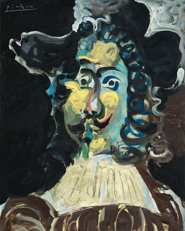 Картина Пабло Пикассо. Мушкетер в шляпе, бюст. 1967 ($4,4 млн)