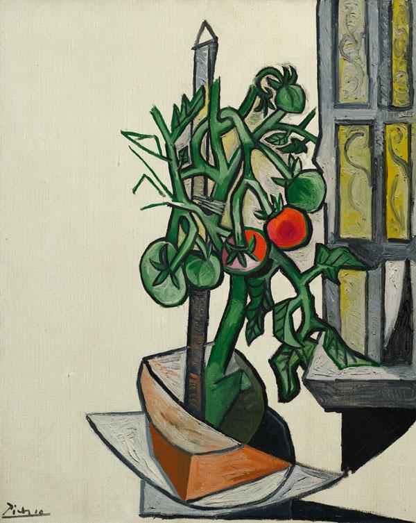 Картина Пабло Пикассо. Томаты. 7 августа 1944 ($6,8 млн)