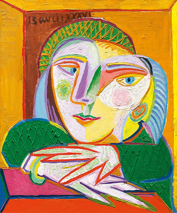 Картина Пабло Пикассо. Женщина у окна (Мария-Тереза). 1936 ($17,2 млн)
