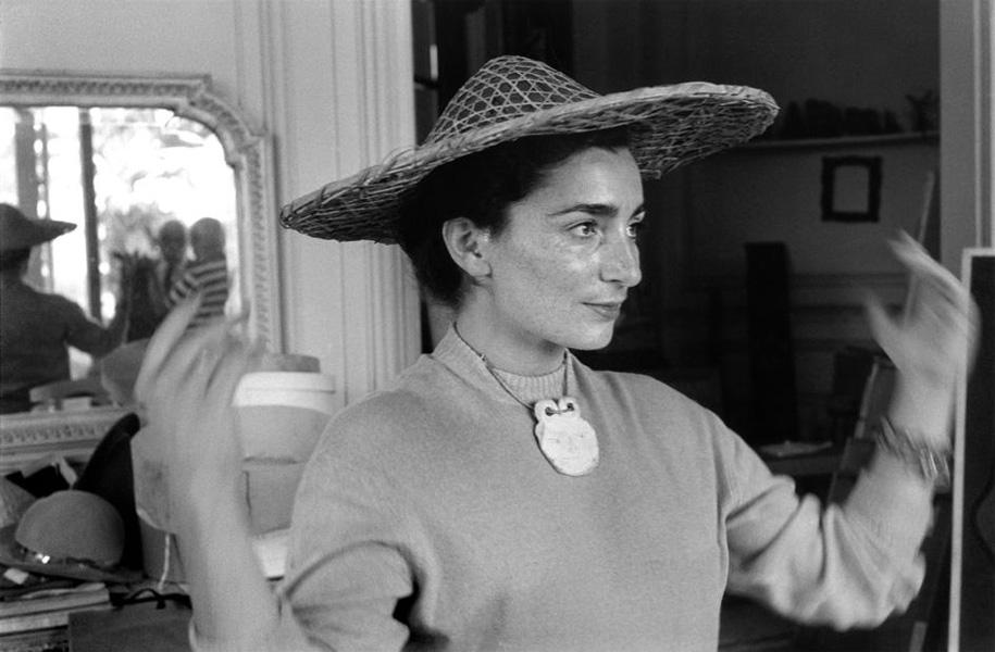 Жаклин Рок в соломенной шляпке, Канны, 1957. Рене Бурри, фото 2