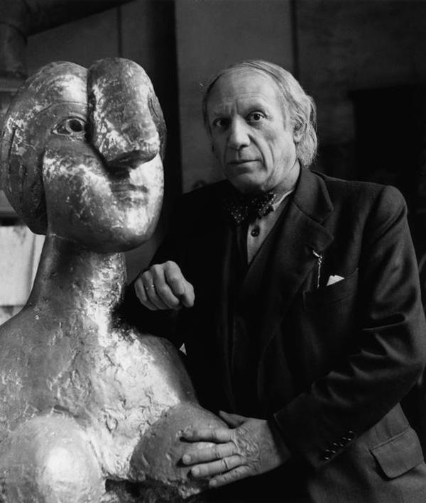 1944 - Пикассо 62 года, Париж