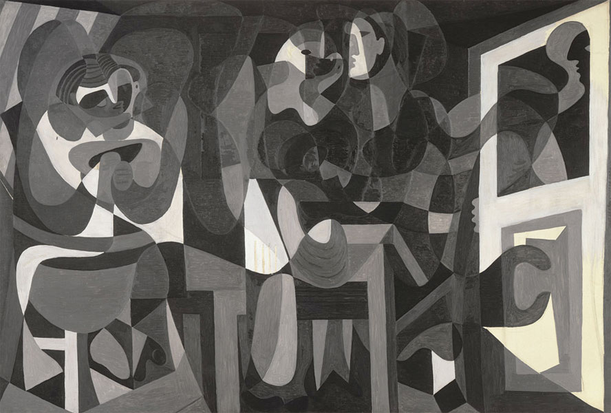 Картина Пабло Пикассо. Ателье модистки. 1926
