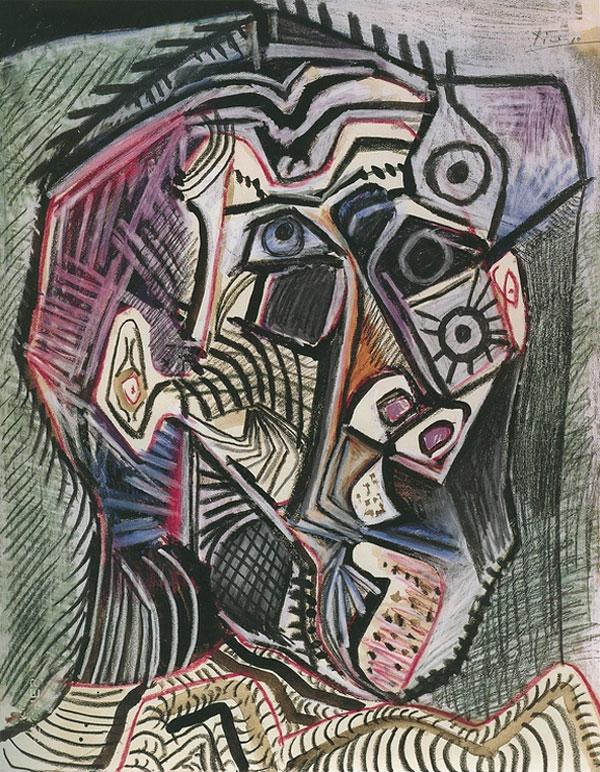 Пабло Пикассо Автопортрет 1972
