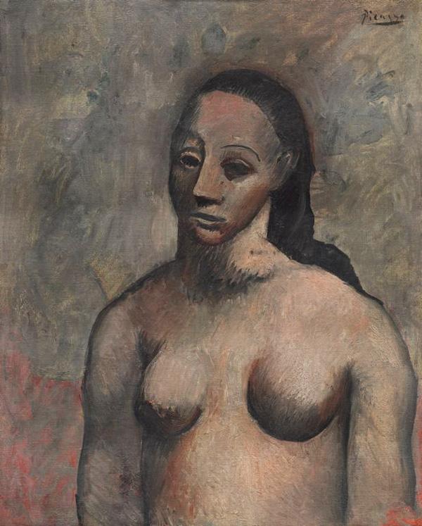 Картина Пабло Пикассо. Портрет женщины. 1906