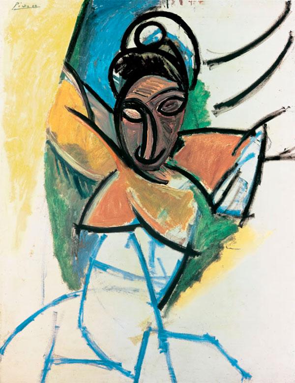 Картина Пабло Пикассо. Женщина. 1907