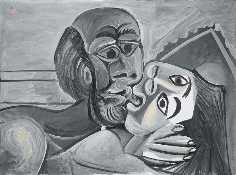 Картина Пабло Пикассо. Поцелуй. 1969 ($17,4 млн)