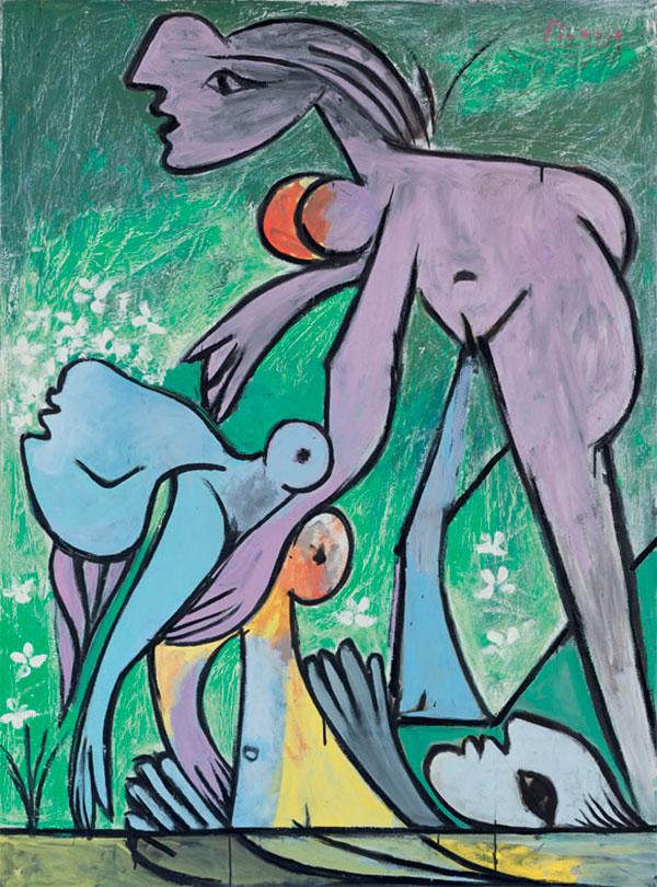 Картина Пабло Пикассо. Спасение. 1932