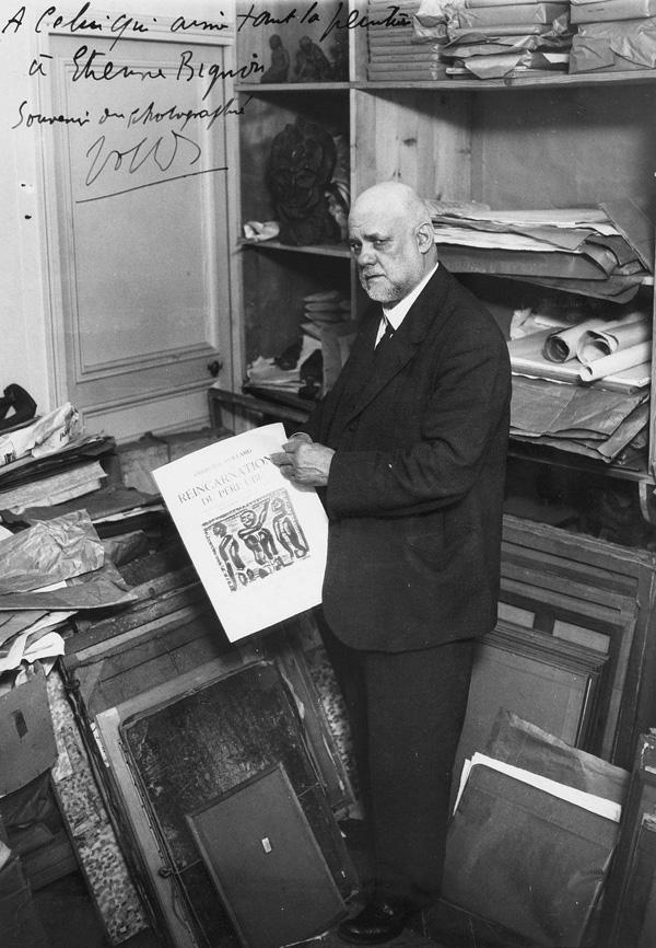 Амбруаз Воллар, Париж, фото 1932