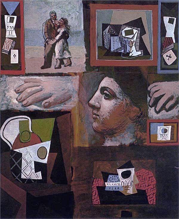 Картина Пабло Пикассо. Этюды. 1920