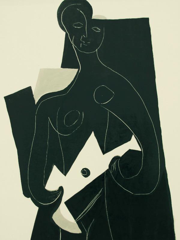 Картина Пабло Пикассо. Женщина с гитарой. 1924