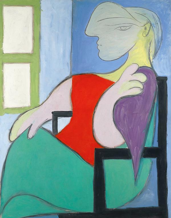 Pablo Picasso Femme assise près d'une fenêtre