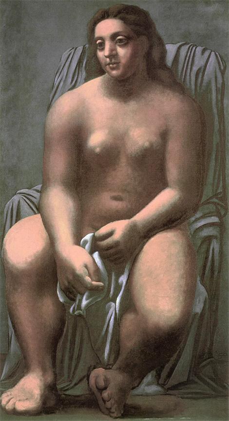 Картина Пабло Пикассо. Большая купальщица. 1921