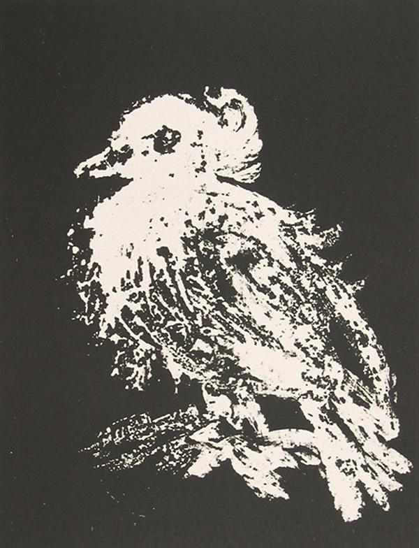 Картина Пабло Пикассо. Маленький голубь. 1949