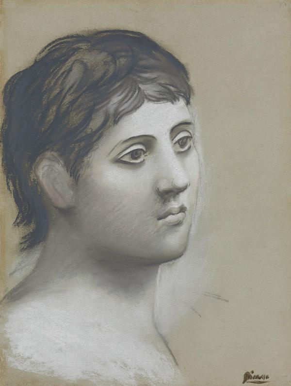 Картина Пабло Пикассо. Голова мужчины. 1921 ($6,13 млн)