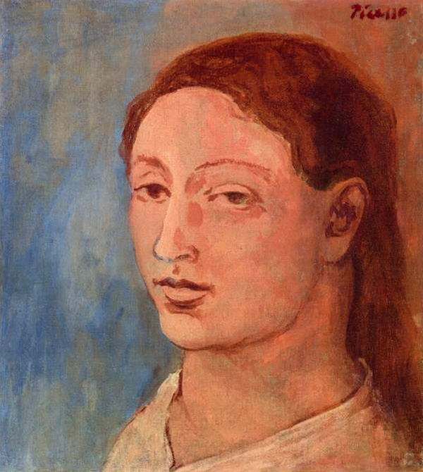 Картина Пабло Пикассо. Голова Фернанды. 1906 ($6,7 млн)