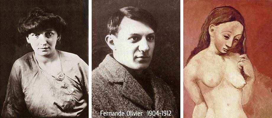 Фернанда Оливье (1904-1912), в фотографиях и картинах Пабло Пикассо
