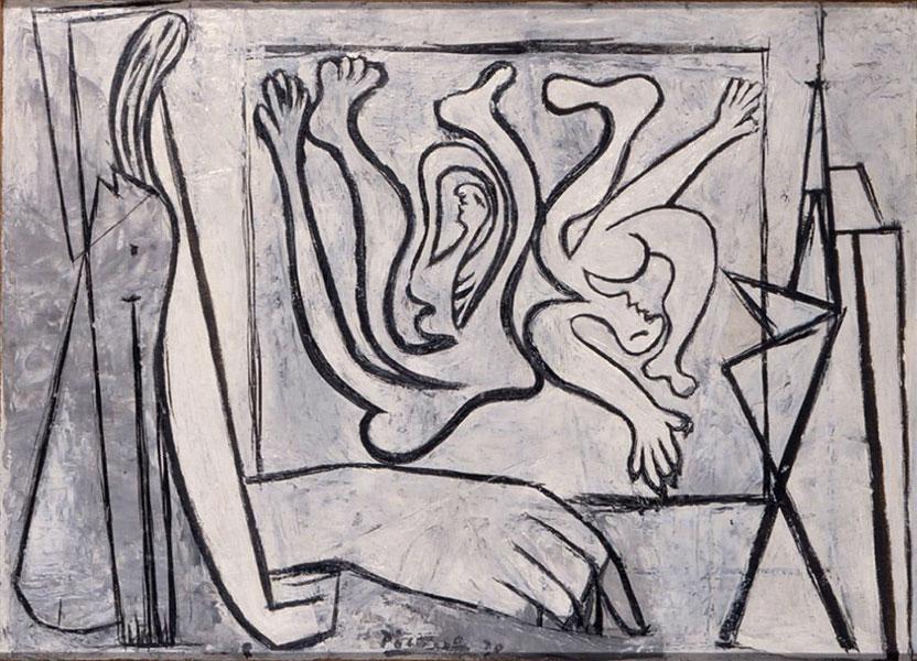 Картина Пабло Пикассо. Художник. 1930