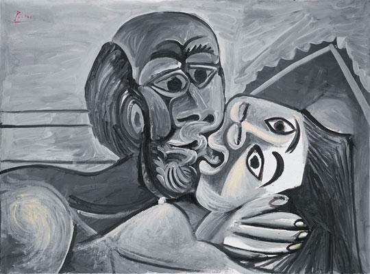Pablo-Picasso_Le-baiser_1969_2