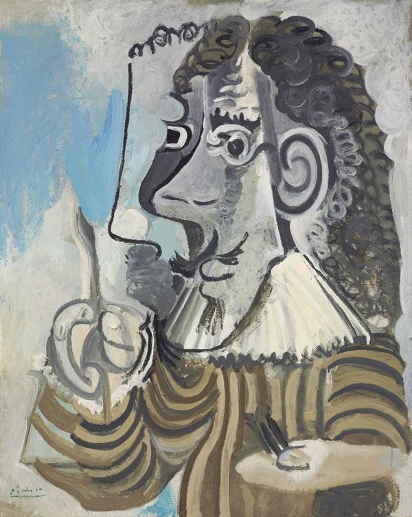 Картина Пабло Пикассо. Художник. 1967 ($5,5 млн)