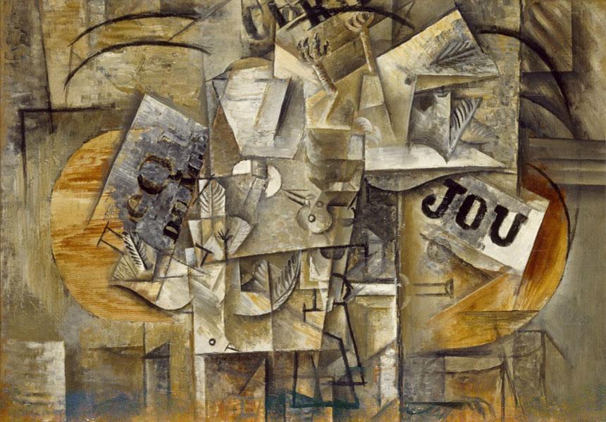 Картина Пабло Пикассо. Мертвые птицы. 1912