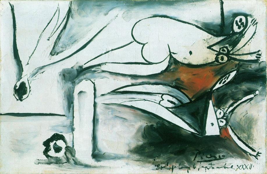 Картина Пабло Пикассо. Купальщицы. 1932