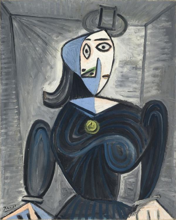 Картина Пабло Пикассо. Бюст женщины (Дора Маар). 1941