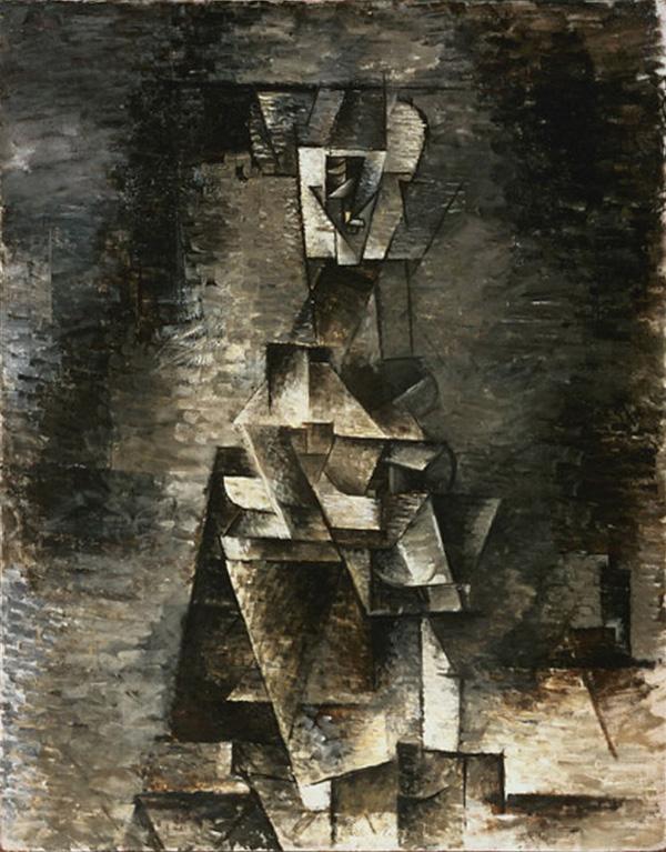 Картина Пабло Пикассо. Обнаженная. 1910