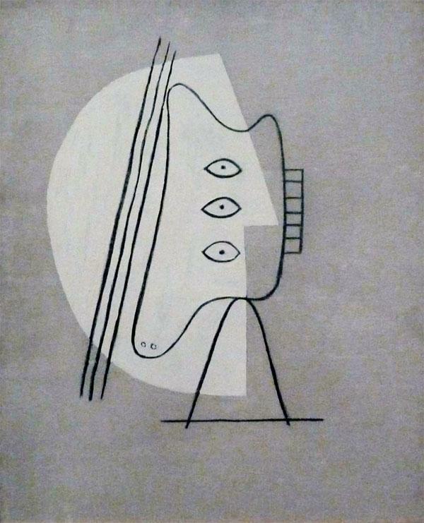 Картина Пабло Пикассо. Фигура. 1928