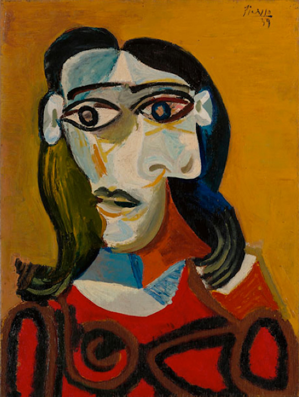 Картина Пабло Пикассо. Темноволосая девушка (Дора Маар). 1939 ($8,3 млн)