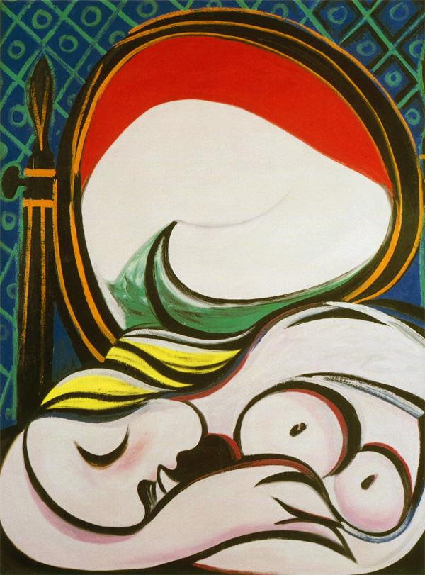 Картина Пабло Пикассо. Зеркало. 1932 ($20,0 млн)