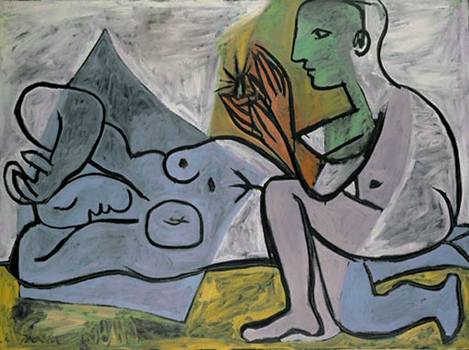 Картина Пабло Пикассо. Любовники. 1932 ($14,5 млн)