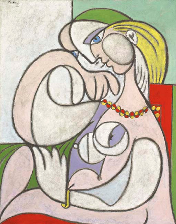 Картина Пабло Пикассо. Обнаженная в колье. 1932 ($23,9 млн)