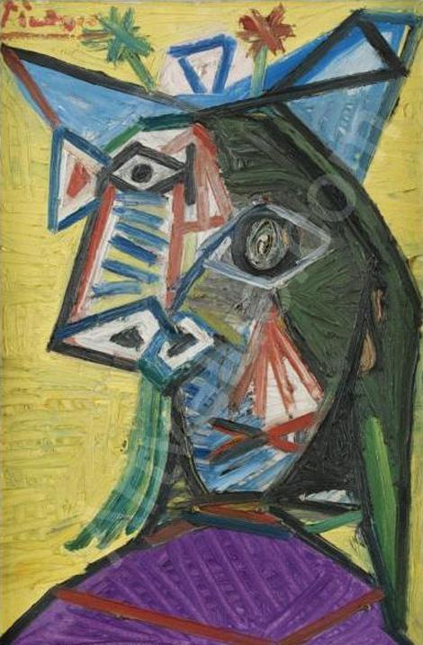 Картина Пабло Пикассо. Голова женщины (Дора Маар). 1939 ($15,5 млн)