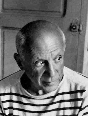 Picasso-Robert-Doisneau-1952